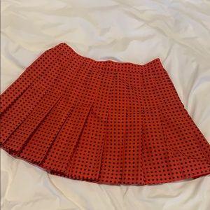 Dresses & Skirts - Vintage red pleated tennis skirt
